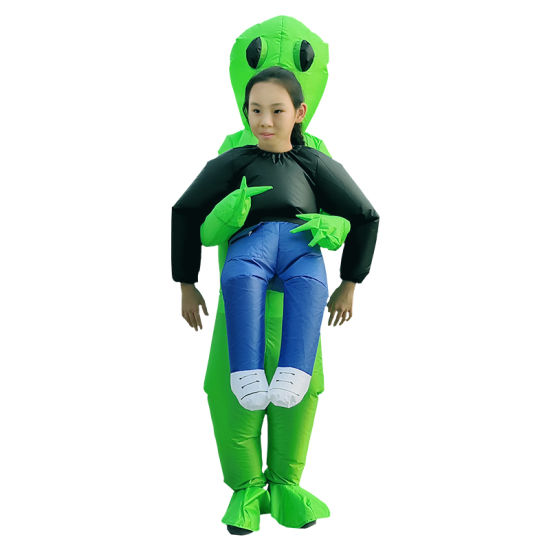 Sections show more follow today it's officially the spookiest time of year! Fancy Inflatable Green Alien Costume Ghost Funny Dress Blow Up Waterproof Halloween Cosplay Party Decoration For Adults China Inflatable Costumes And Halloween Costumes Price Made In China Com