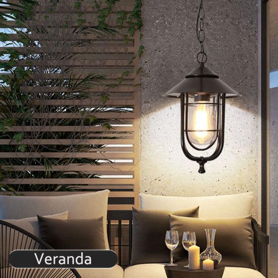 outdoor and indoor waterproof ip65 e27 vintage pendant lighting