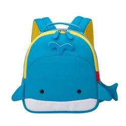 China Blue Whale Cartoon Backpack for 2 7 Year Old Children China Children Backpack and Kid Backpack price