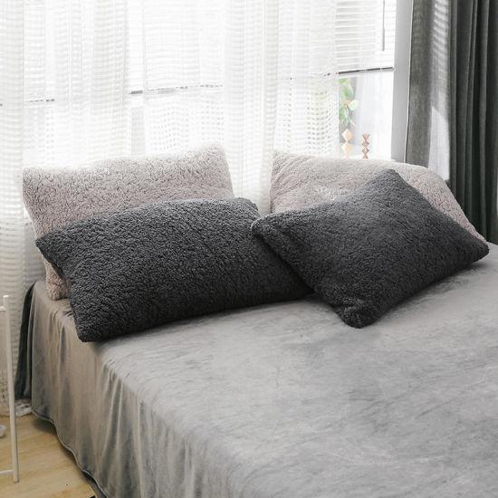china micro polyester sherpa fleece
