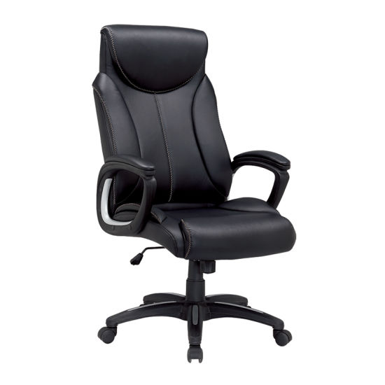 executive revolving chair specifications folding storage china high back faux leather manager office fs 8811