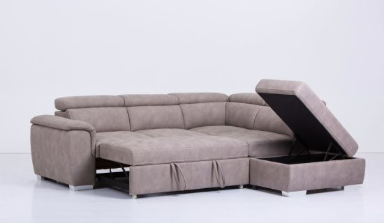 china l shape sectional leather sofa