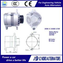 Delco Remy Alternator Diagram 2005 Civic Fuse Box China Oem No 0 35000 4190