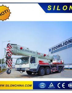 Telescopic boom truck crane tons qy zoomlion brand also china rh silonmachinery ende in