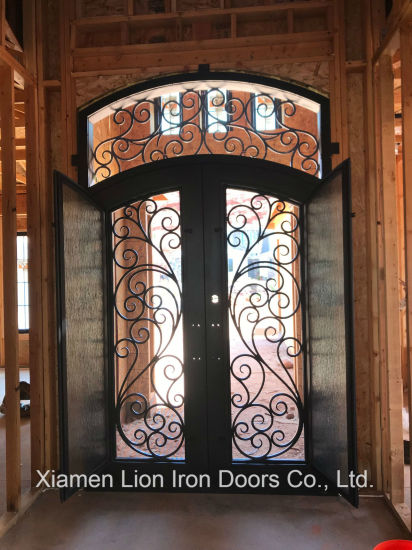 china modern luxury villa front steel
