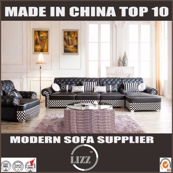 chesterfield sectional sofa suppliers ebay leather sofas second hand china home furiture with crystal
