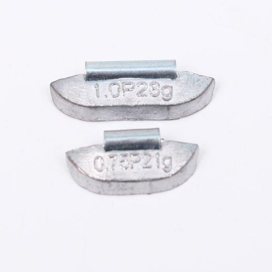 zinc clip on wheel