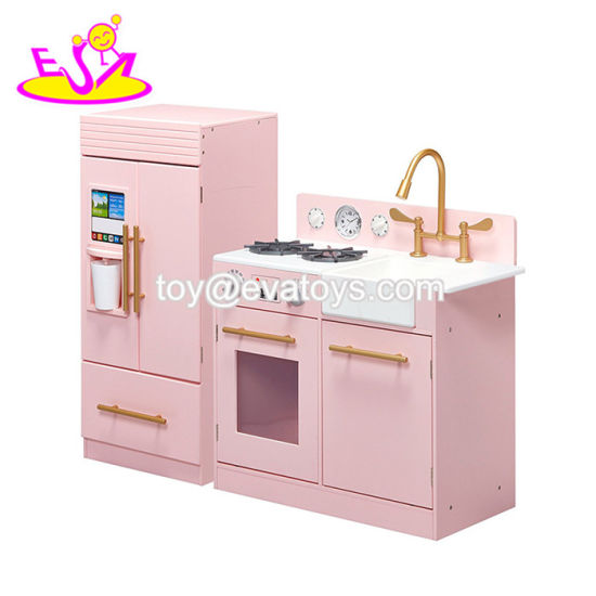 toy kitchen sets cabinets cheap china new hottest miniature large wooden for girls w10c370