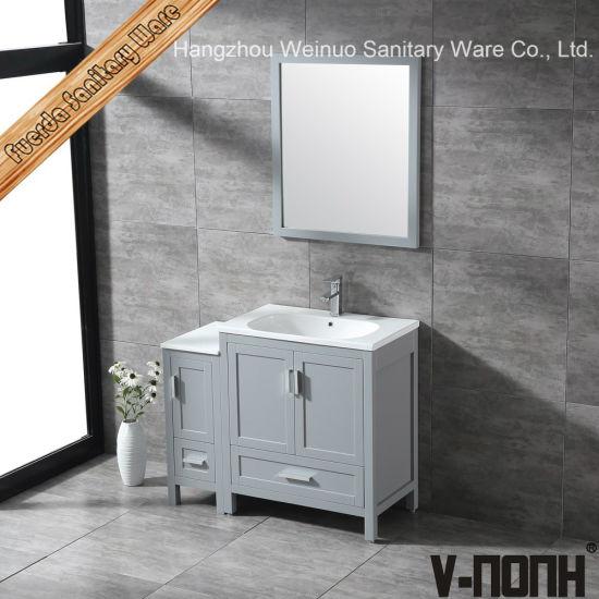 china modern style solid wood bathroom