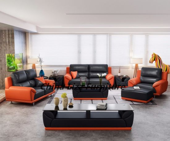 dubai living room furniture art van china solid wood leather sofa