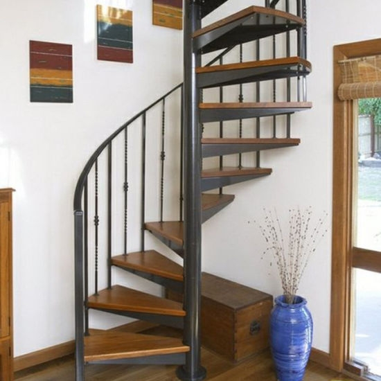 Hot Sell Used Spiral Staircase Handrail Design Wooden Step For   Second Hand Spiral Staircase For Sale   Design   Simple   Vertical   Stairway   Easy