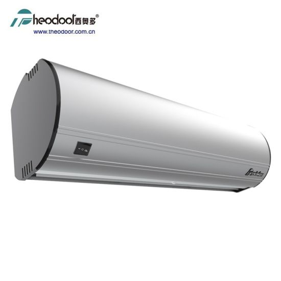 auto air curtain fan with infrared