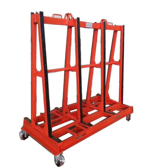 transport detachable combo glass rack