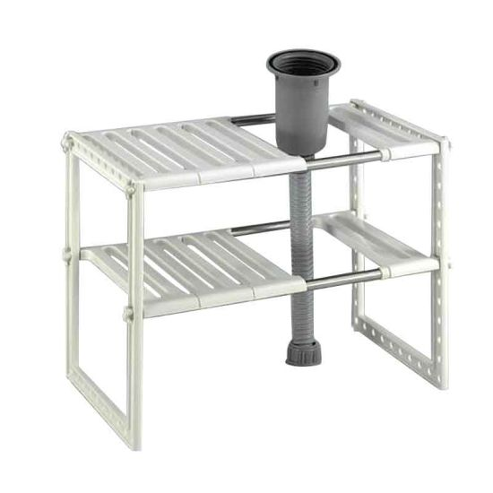 china expandable under sink storage and