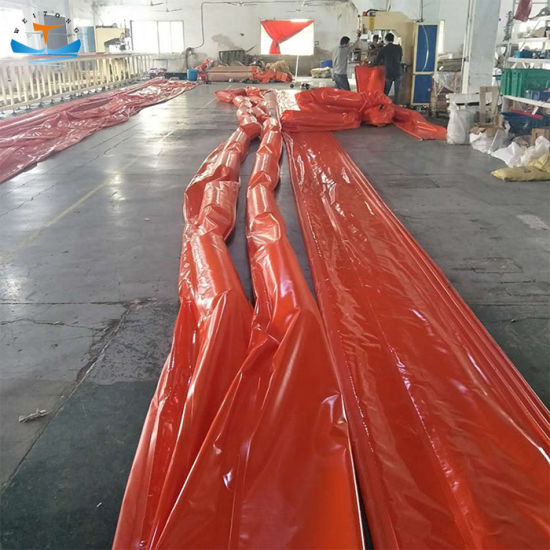 solid float oil spill containment boom