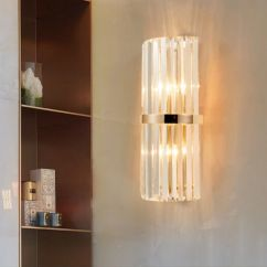 Wall Lamps Living Room Ideas For Curtains China Luxury Post Modern Style Hotel Crystal Sconce Lamp