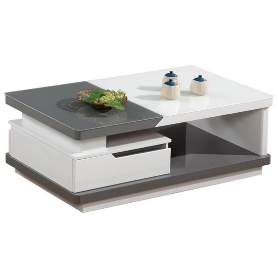 modern coffee table storage drawer