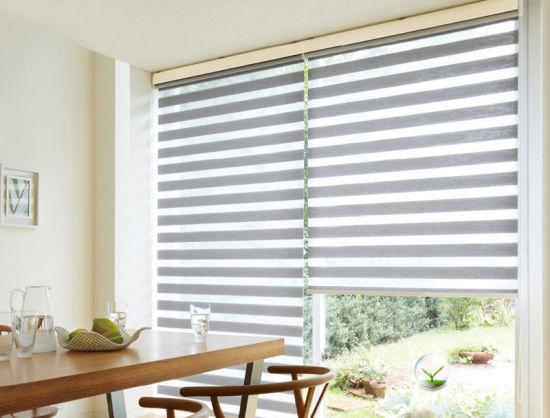 window blinds for living room correct area rug size china sikadan high good quality zebra rainbow