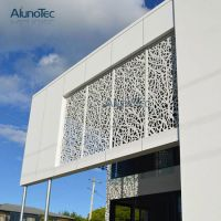 China Perforated Metal Panel Decorative Wall Panels ...