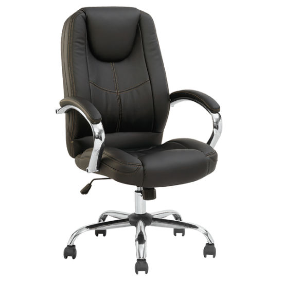executive revolving chair specifications banquet chairs cheap china medium back furniture manager office leather fs ex030 pictures