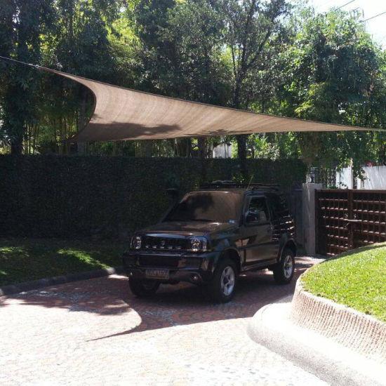 coolaroo outdoor car parking sun shade sail