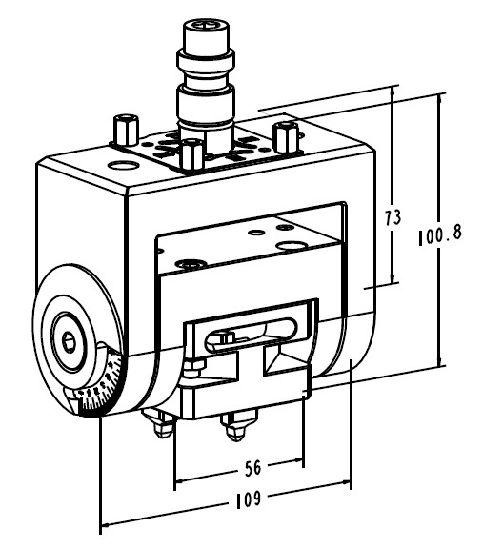 China a-One Erowa EDM Machine Mini Tilting Lathe Chuck 3A