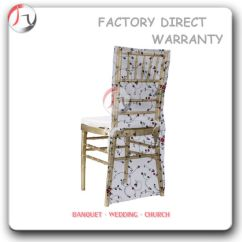 Chair Covers Direct From China Fold Up Beds Light Gold Wedding Banquet Chiavari With At 13 Pictures Photos