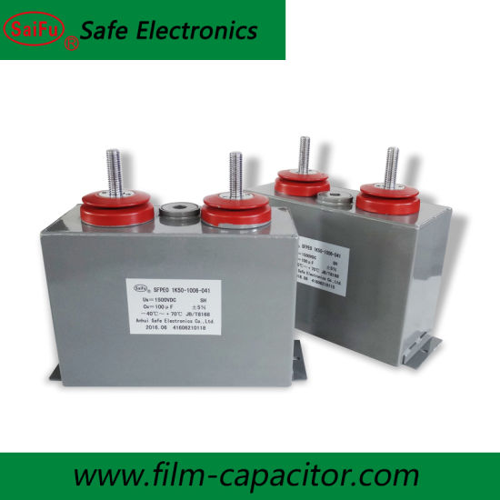 High Voltage Oil Capacitor For Capacitor Bank Single Phase