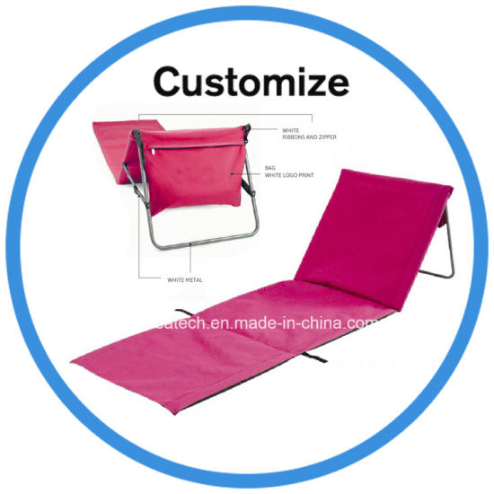 folding chair nylon spandex covers chairs china metal tube fabric picnic camping low beach foldable pictures photos