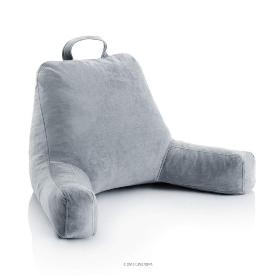 shredded foam pillow bed rest back