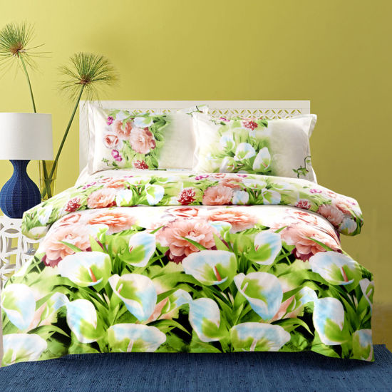 china europe style 3d floral bedding