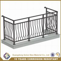 China Decorative Aluminum Balcony Hand Railing Design