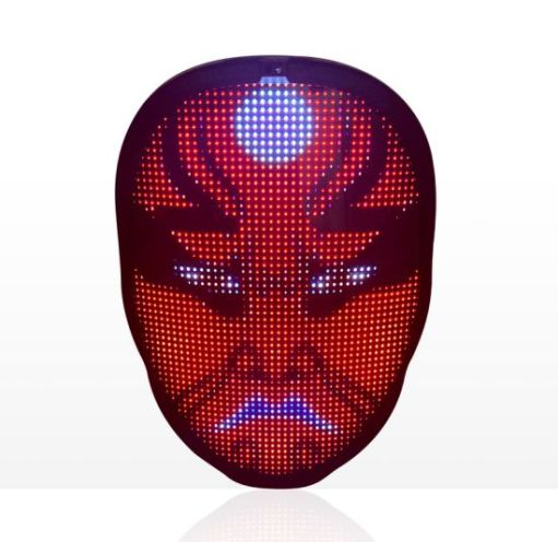 Linli APP Controlled Program LED Face Mask Changing Picture Face Mask Full  Color Face for Halloween Party Concert - China Program LED Face Mask and  Changing Picture Face Mask price | Made-in-China.com