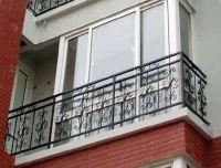 China Wrought Iron Balcony Fence/Iron Fencing/ Steel Fence ...