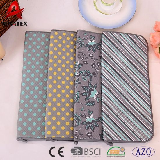 kitchen dish drying mat cabinets doors for sale china best microfiber use