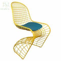 S Chair Replica Roman Abs China Modern Shape Verner Panton Wire Metal