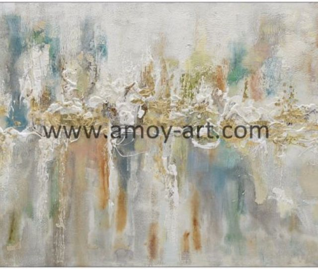 Chinese Handmade Wholesale Abstract Oil Paintings For Wall Decor
