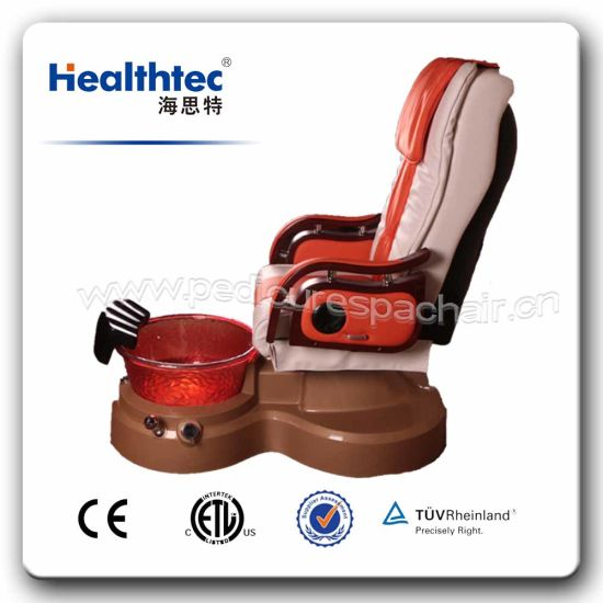 used no plumbing pedicure chair swivel leather china beauty salon furniture