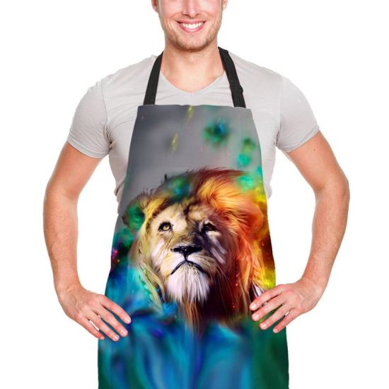kitchen apron for kids fluorescent light china wholesale custom promotion adults cotton cooking