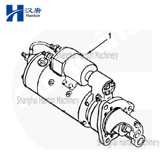 China Cummins marine diesel engine motor NTA855 parts