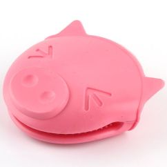 Pig Kitchen Shoes Non Slip China Waterproof Pink Silicone Gloves Fda Oven Mitts