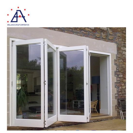 exterior french patio bifold sliding doors aluminum glass folding doors