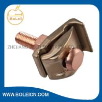 China Bronze Ground Clamp for Bonding Bare Copper Wire to ...