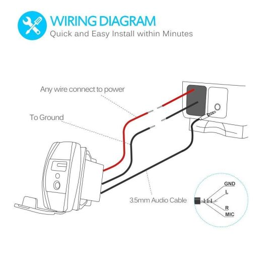 Aux To Usb Cable Wiring Diagram