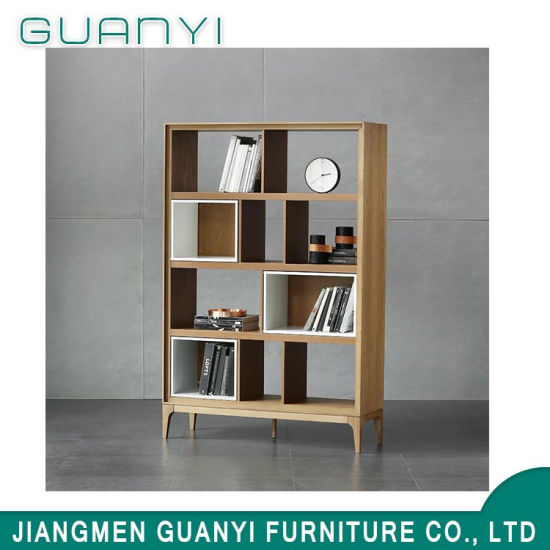 bookcase cabinets living room cheap curtains china modern design soild ash wood furniture pictures photos