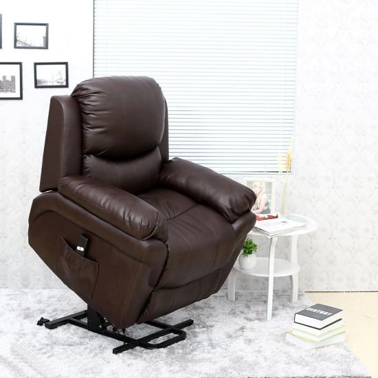 office chair riser kitchen cushions walmart china electric rise and recline lift tilt mobility recliner