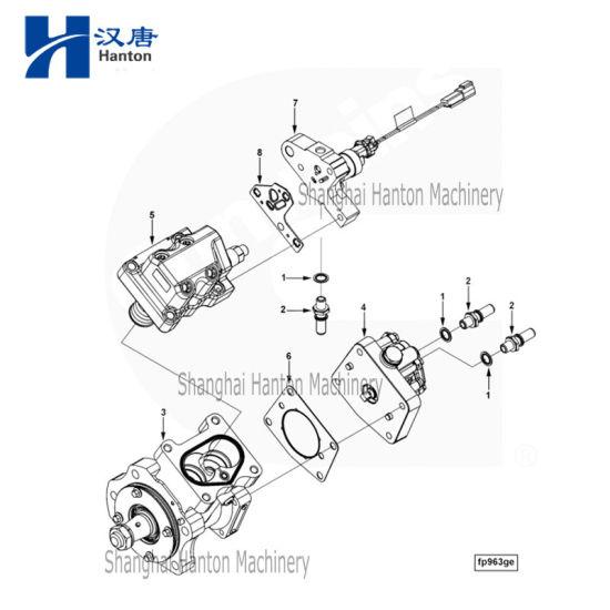 China cummins auto diesel engine motor ISLE parts 4088866