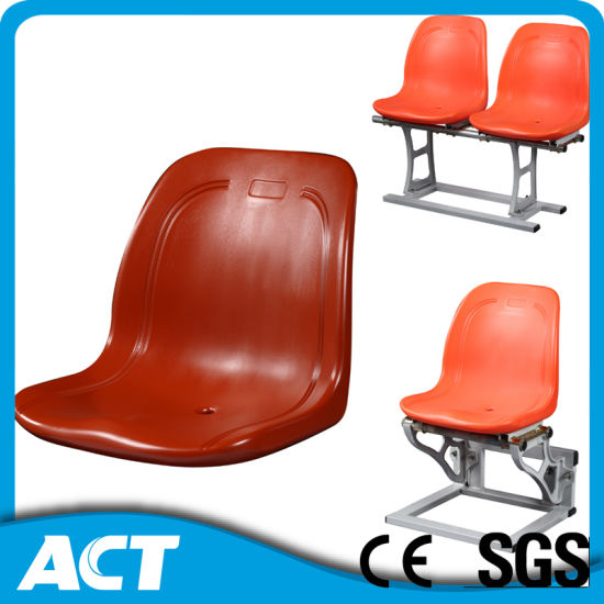 stadium chair for bleachers desk chairs made in usa china popular plastic bleacher seat with full back pictures photos