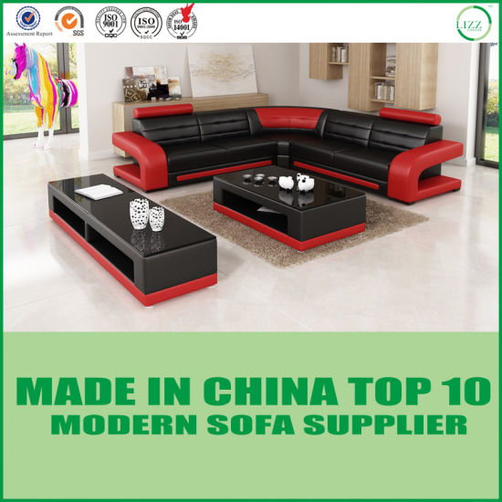 modern sofa l shape retro leather melbourne china contemporary living room furniture leisure pictures photos