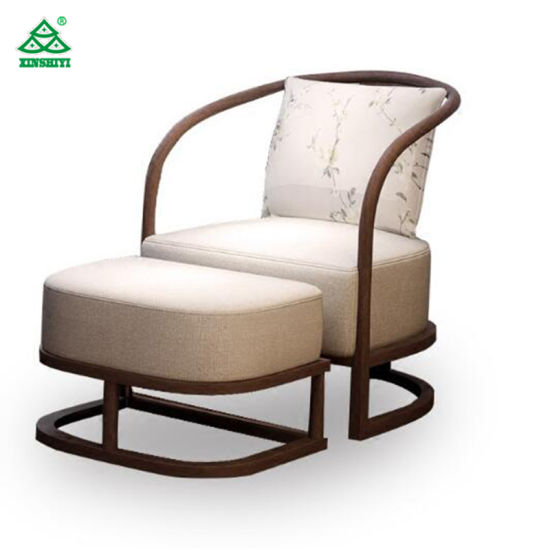 single sofa design best sofas under 1000 chinese style hotel upholstered wooden frame with ottoman furniture
